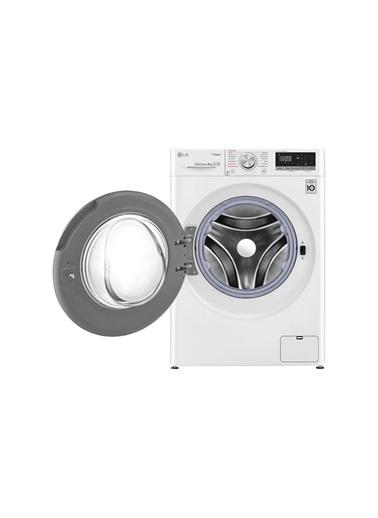 LG LG F4R5VYW0W A+++ 1400 Devir 9 kg Çamaşır Makinesi Beyaz